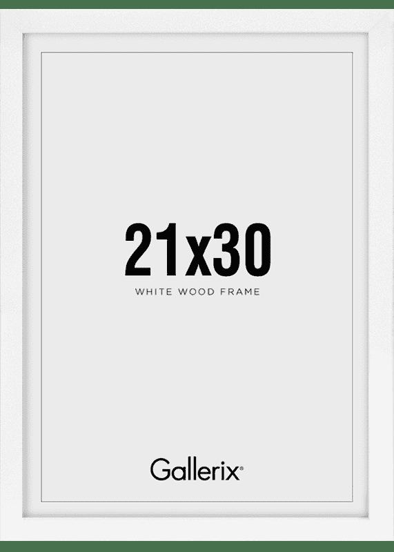 Billedramme Træramme Hvid 21x30-0