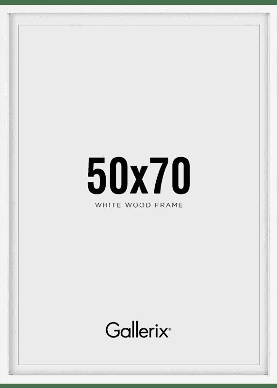Billedramme Træramme Hvid 50x70-0