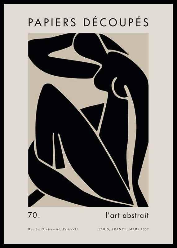 Matisse Cutout Woman