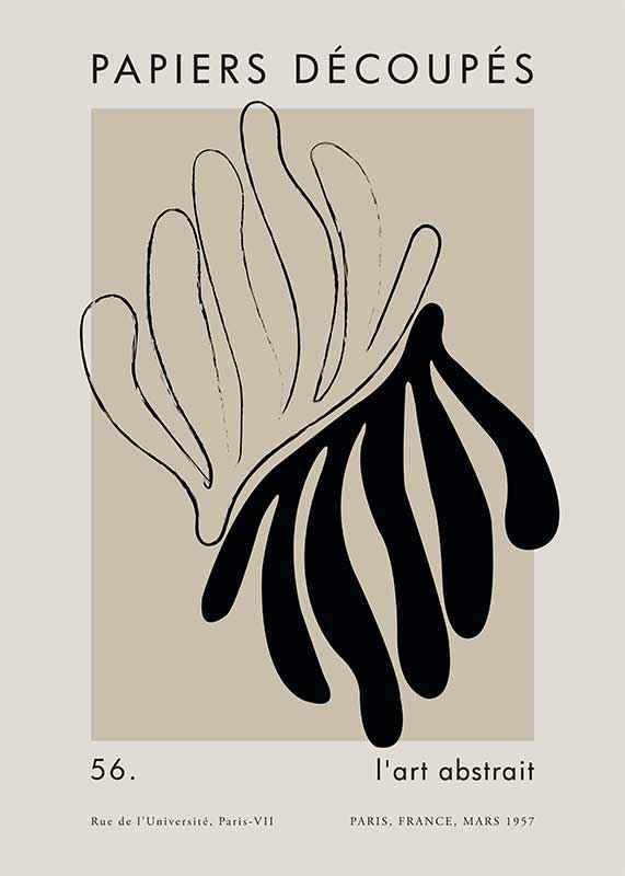 Matisse Cutout Black-1