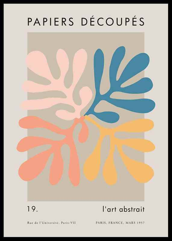 Matisse Cutout Colors