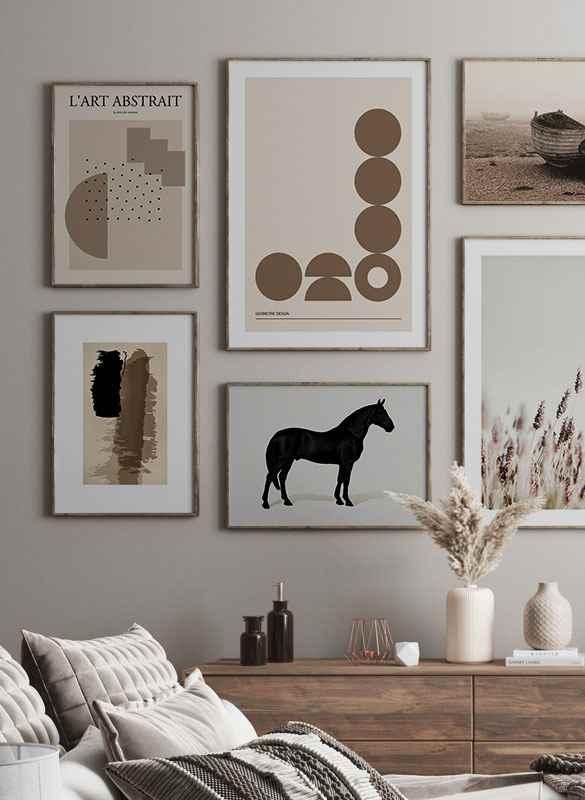 Black Horse Land. Drawing-2