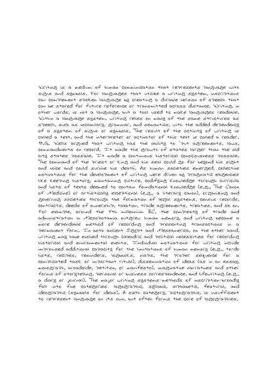 The Written Word-1