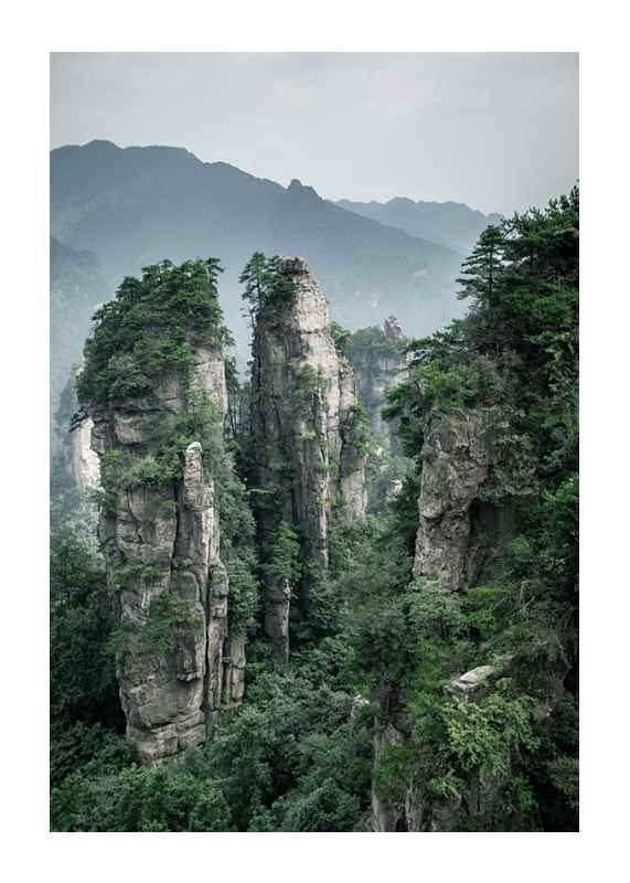 Zhangjiajie National Park-1