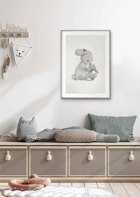 Watercolor Rabbits-4