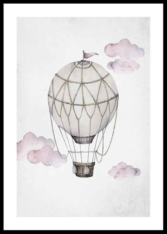 Watercolor Hot Air Balloon