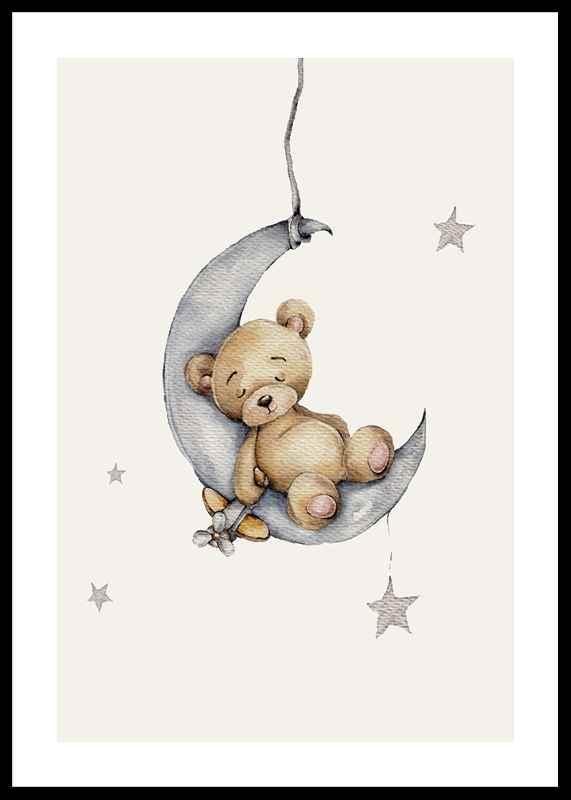Sleeping Teddy