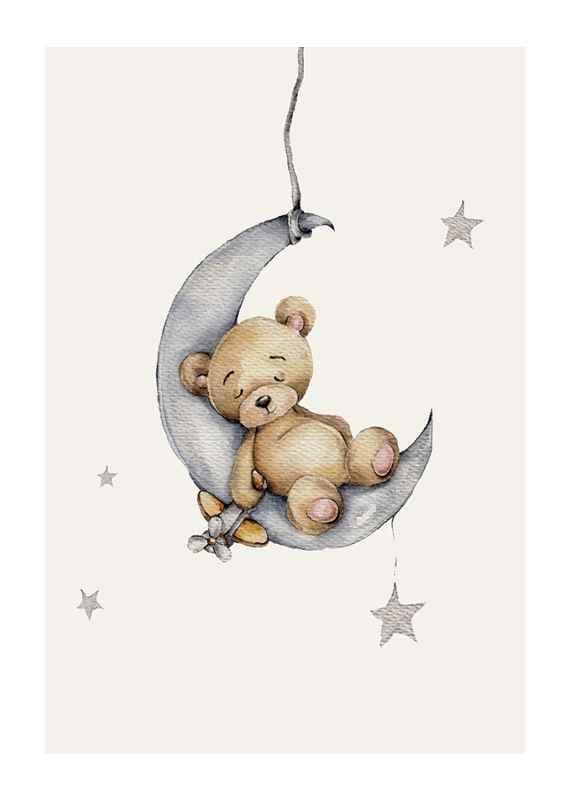 Sleeping Teddy-1