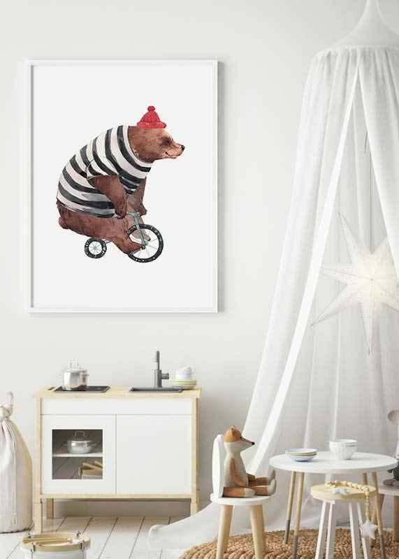 Bear On Bike-2