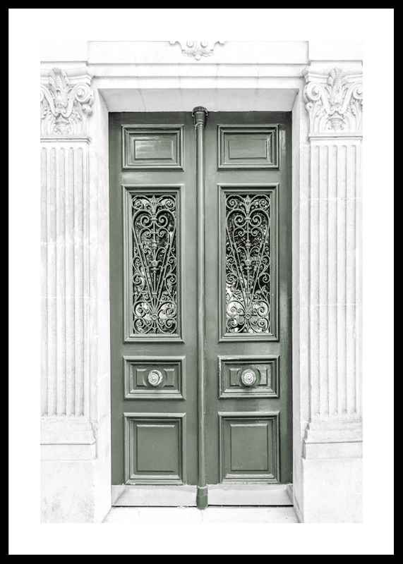 Green Double Door