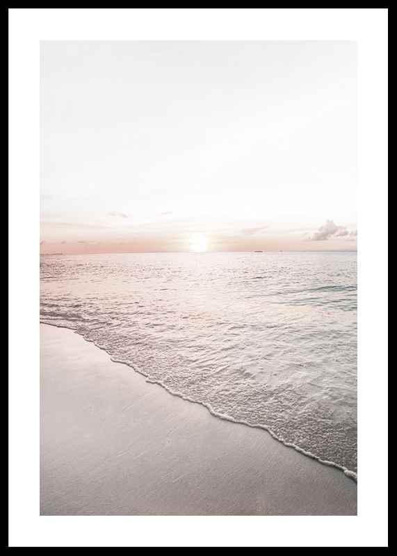 Calm Beach Sunset