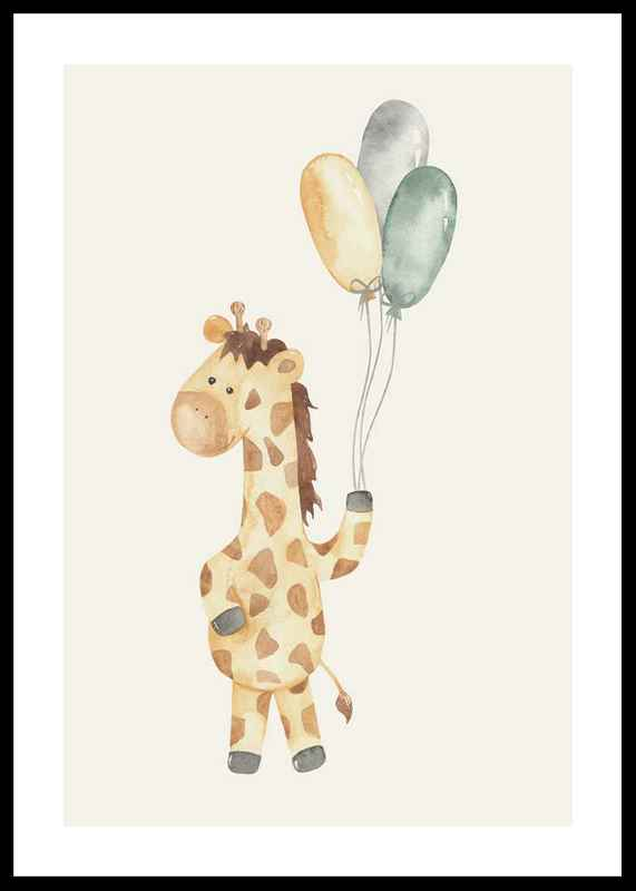 Giraffe Balloons