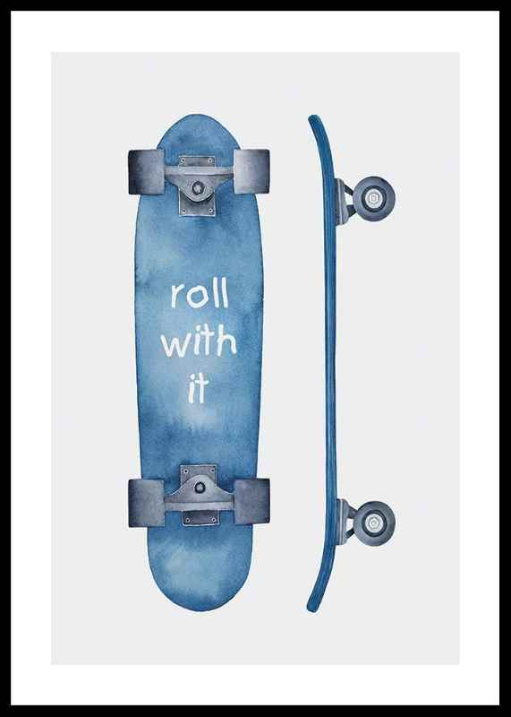 Skateboard Roll-0