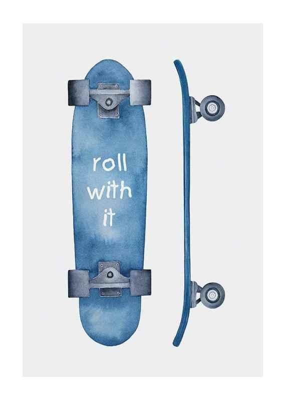 Skateboard Roll-1