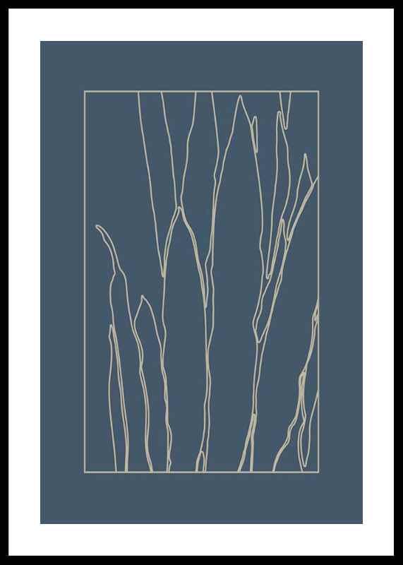 Botanical Line Art No1-0