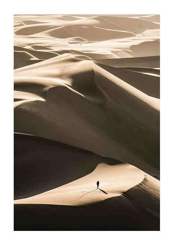 Walking In Desert-1