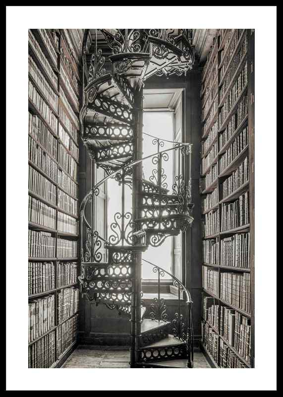 Books And Staircase
