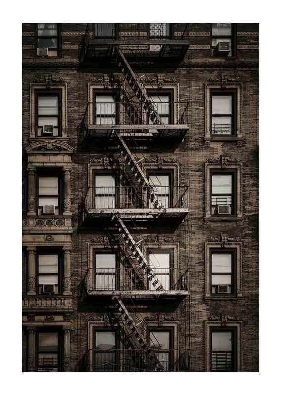 New York Fire Escape-1