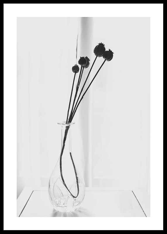 Poppies In A Vase