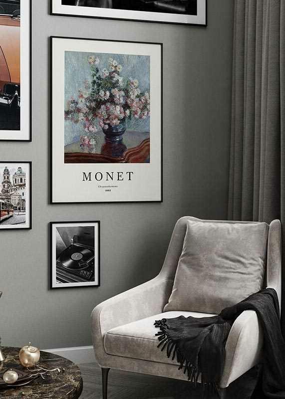 Monet Chrysanthemums-2