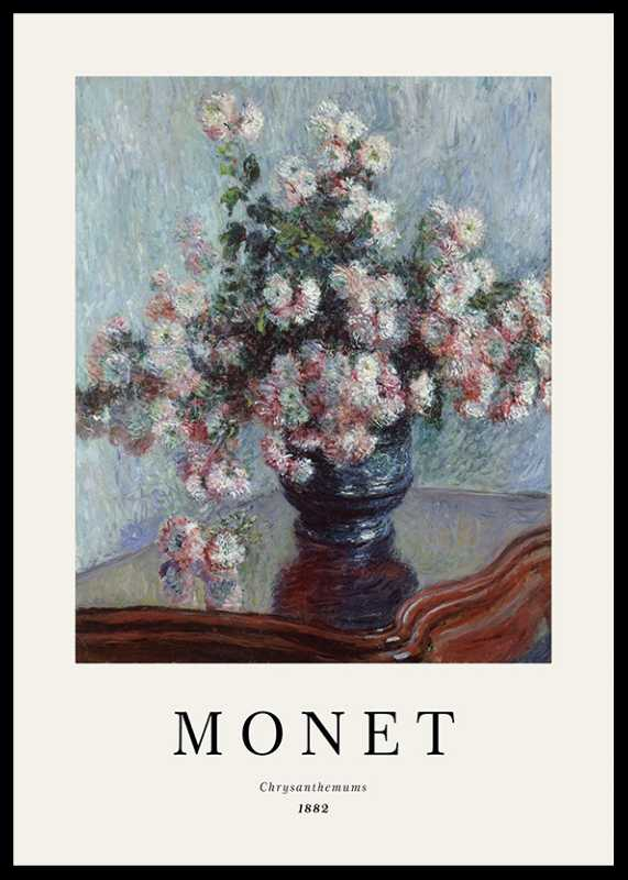 Monet Chrysanthemums