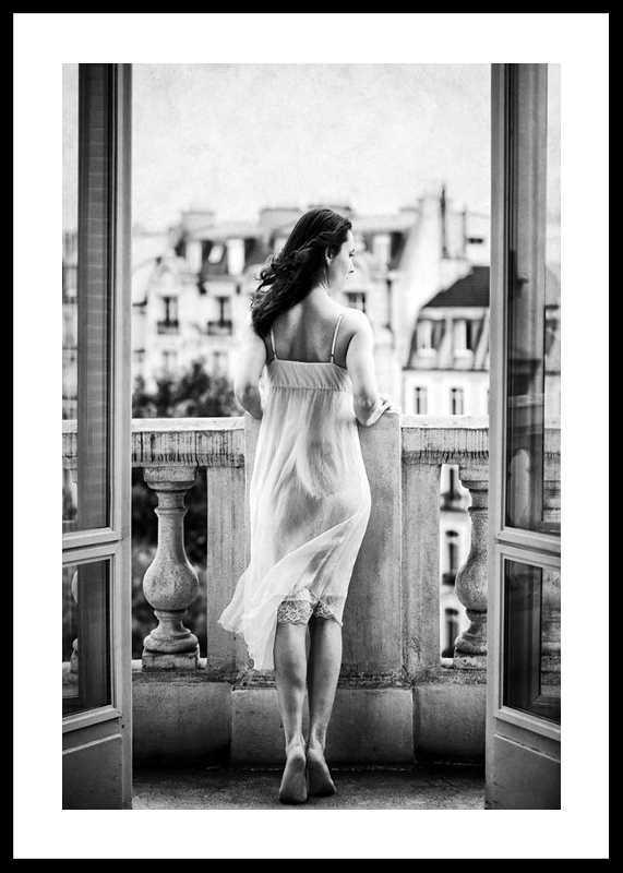 Woman On Balcony-0