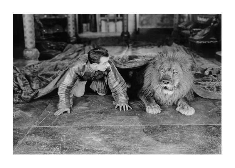 Man And Lion-1