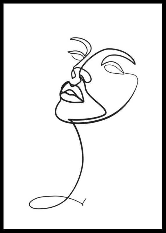 Line Art Face-0