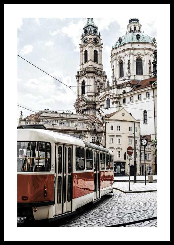 Tram In Mala Strana