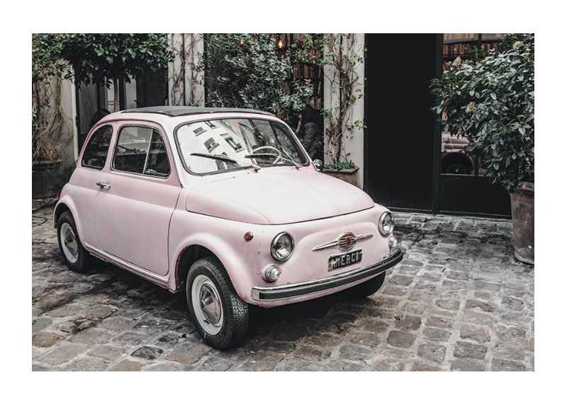 Pink Car-1