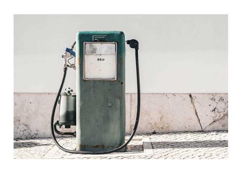 Vintage Gasoline Pump-1