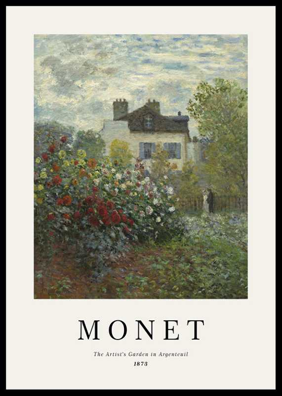 Monet Garden In Argenteuil