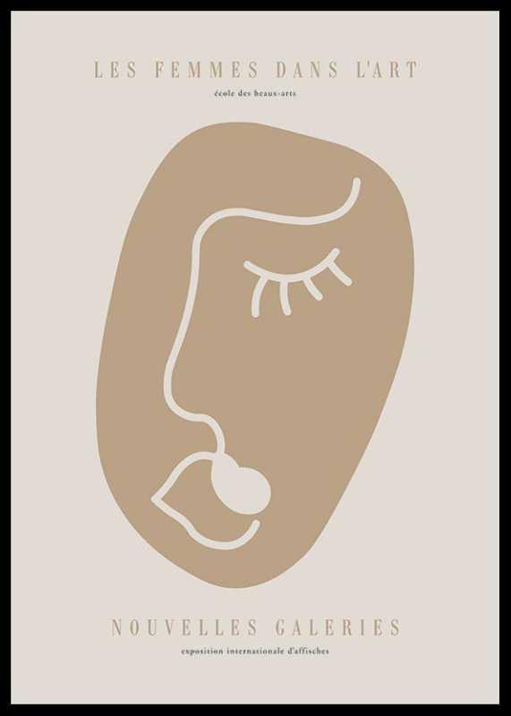 Picasso Rostro Femenino