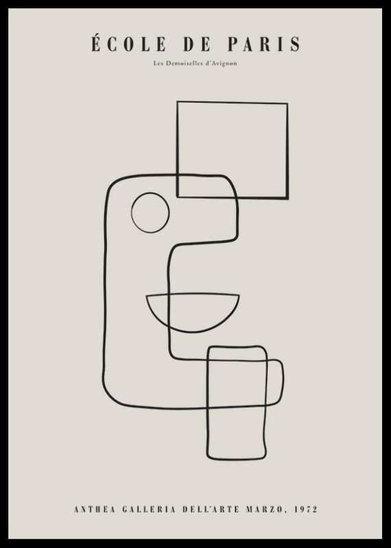 Picasso Cubisme Et Lignes