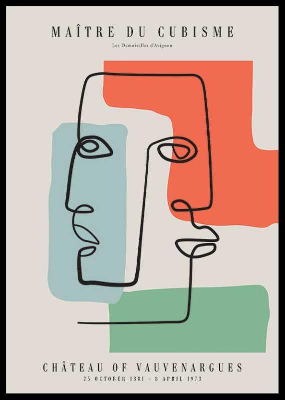 Picasso Maitre Du Cubisme No2