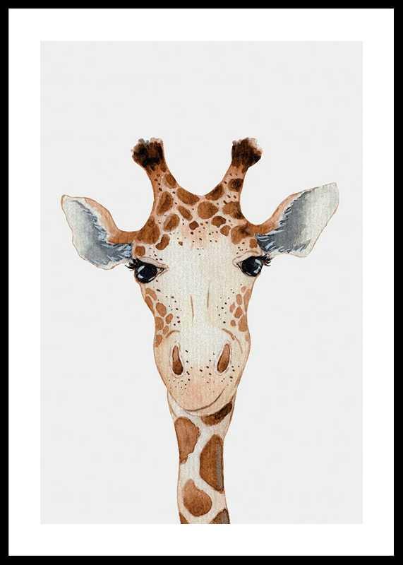 Peekaboo Giraffe