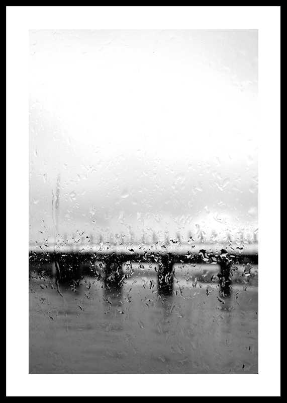 Behind Rain Drops